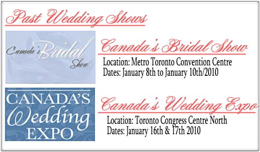 Past Wedding Shows